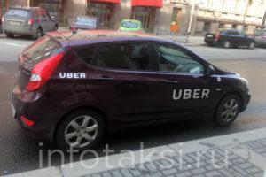автомобиль такси Uber (Санкт-Петербург)