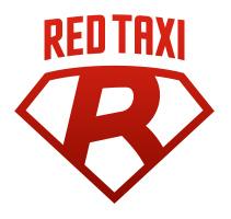 логотип такси Ред (Ростов-на-Дону)